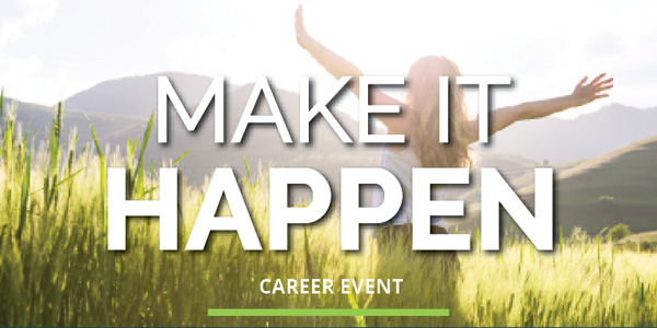 Make it Happen Career Event featured image